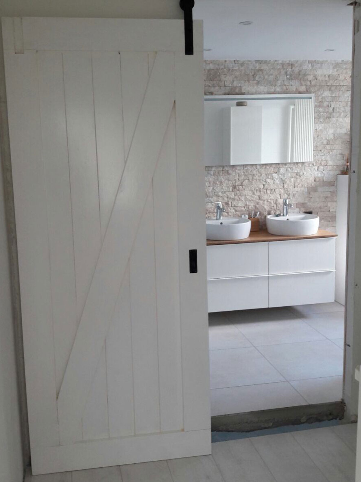nieuwe badkamer Leeuwarden